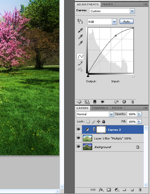 Photoshop settings for digital Orton or Dreamscape